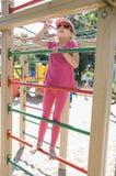 Dziewczyna na boisku Fotografia Stock