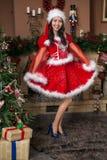 Dziewczyna na karnawale Zdjęcie Royalty Free