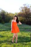 Dziewczyna na naturze Zdjęcie Royalty Free