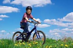 dziewczyna na rowerze Obraz Stock