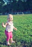 Dziewczyna na spacerze Fotografia Stock