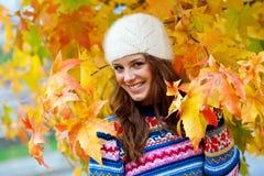 dziewczyna na zewnątrz nastoletniego Fotografia Stock