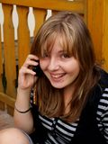 dziewczyna nastolatek Zdjęcie Royalty Free