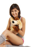 dziewczyna nastolatek latynoski infantylny fotografia stock