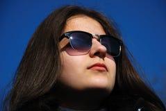 dziewczyna nastolatek uśmiechasz Zdjęcie Stock