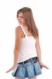 dziewczyna nastolatka Zdjęcie Royalty Free