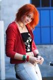 dziewczyna nastoletnia Obrazy Stock