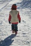 dziewczyna śnieg Obrazy Stock