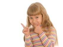 dziewczyna niegrzeczna Zdjęcia Royalty Free
