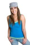 dziewczyna nosić kapelusz Obrazy Royalty Free