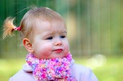 dziewczyna nosi scark young Zdjęcie Stock