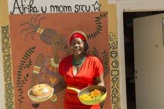 Dziewczyna od afryka zachodnia Fotografia Royalty Free