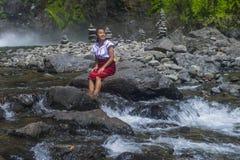 Dziewczyna od Ifugao mniejszości etnicznej w Filipiny Zdjęcia Stock