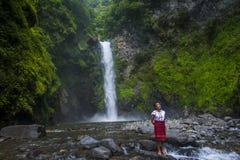 Dziewczyna od Ifugao mniejszości etnicznej w Filipiny Zdjęcie Stock