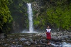 Dziewczyna od Ifugao mniejszości etnicznej w Filipiny Fotografia Royalty Free