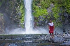 Dziewczyna od Ifugao mniejszości etnicznej w Filipiny Zdjęcia Royalty Free