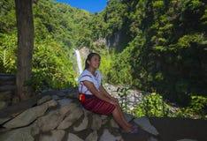 Dziewczyna od Ifugao mniejszości etnicznej w Filipiny Obrazy Royalty Free