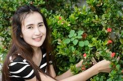 dziewczyna ogrodowa Zdjęcie Stock