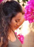 dziewczyna ogrodowa Fotografia Stock