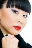 dziewczyna Oriental Obraz Royalty Free