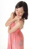 dziewczyna Oriental Obrazy Stock