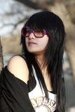 dziewczyna orientalna Zdjęcia Stock