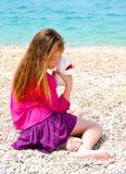dziewczyna osamotniona Zdjęcia Royalty Free