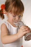 dziewczyna pół litra Zdjęcie Royalty Free