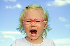 dziewczyna płacze Obrazy Stock