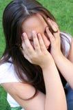 dziewczyna płacze obraz stock