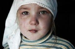 dziewczyna płacze Obrazy Royalty Free