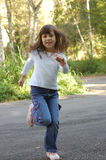 dziewczyna park, Zdjęcia Royalty Free