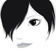 dziewczyna piękny świetny dotyk ilustracji