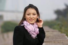 dziewczyna piękny chiński uśmiech Obrazy Stock