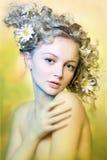 dziewczyna piękny portret Fotografia Stock