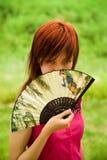 dziewczyna piękny portret fotografia royalty free