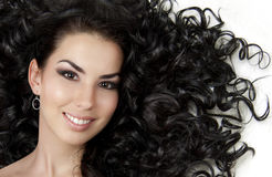 dziewczyna piękny włosy fotografia stock