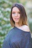 dziewczyna piękny włosy tęsk potomstwa Zdjęcie Royalty Free