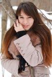 dziewczyna piękni portrety Fotografia Royalty Free