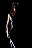 dziewczyna piękny kordzik Zdjęcie Stock