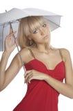 dziewczyna piękny parasol Fotografia Royalty Free