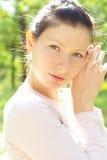 dziewczyna piękny portret zdjęcia stock