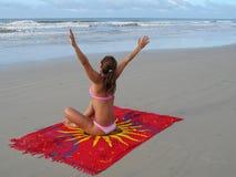 dziewczyna plażowa Zdjęcie Royalty Free
