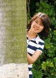 dziewczyna pogodna Obraz Royalty Free