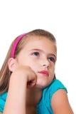 Dziewczyna portret. zdjęcia royalty free
