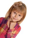 dziewczyna portret mały uroczy zdjęcia royalty free