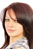 dziewczyna portret mili młodzi Obraz Stock