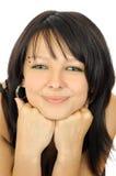 dziewczyna portret szczęśliwe młode Zdjęcie Stock