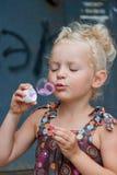 dziewczyna portret szczęśliwy mały Fotografia Royalty Free