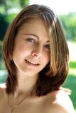 dziewczyna portret uśmiech Zdjęcie Royalty Free